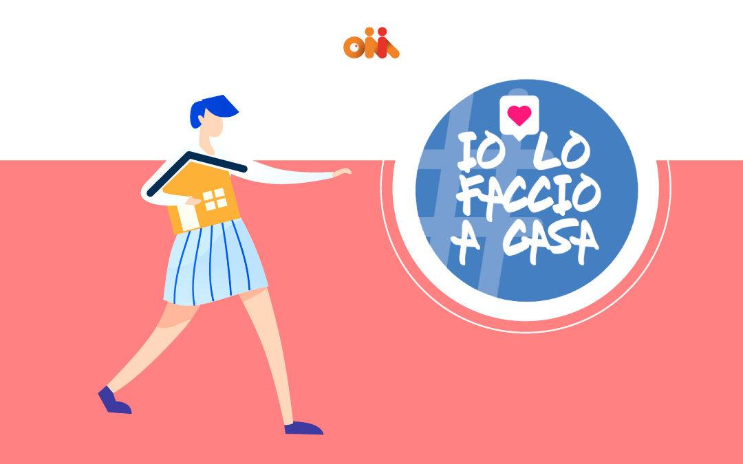 #IoLoFaccioACasa: il mondo dell'Influencer Marketing si attiva durante l'emergenza Coronavirus