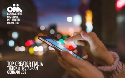 Top Creator Italia – Instagram & TikTok